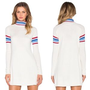 UNIF | Olympia Sweater Dress in White